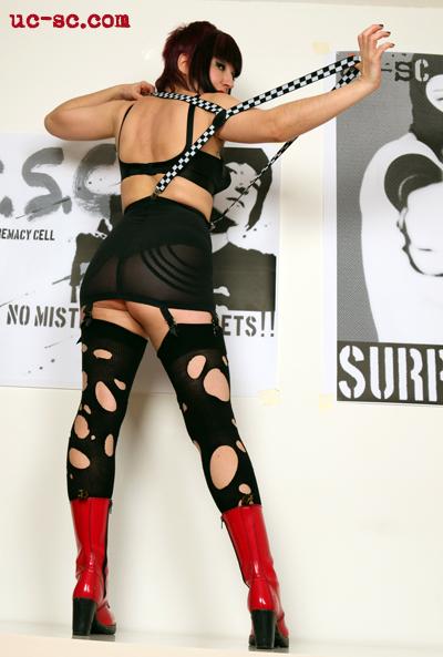 skingirl skinhead femdom fetish mistress