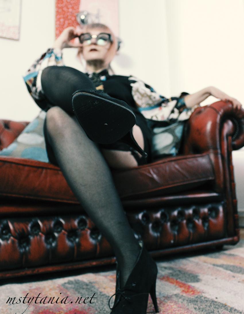 stern librarian mistress