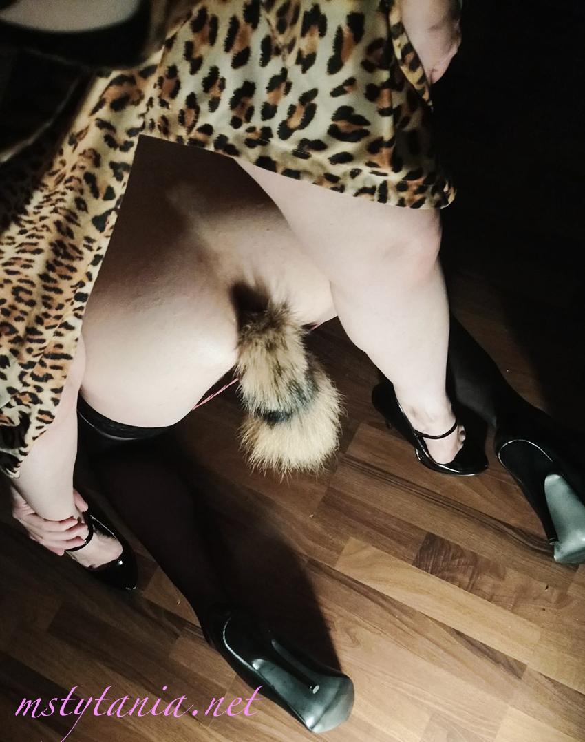 femdom anal training buttplug