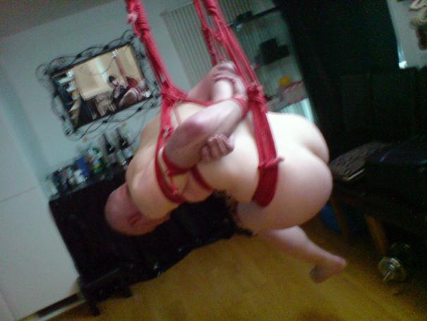 hogtie rope bondage Mistress