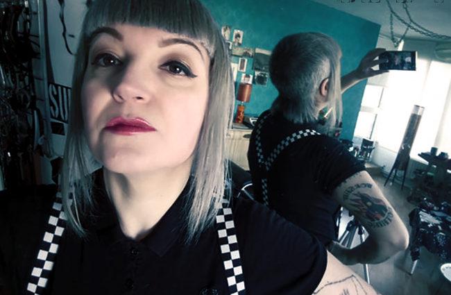 skinhead chelsea cut fetish