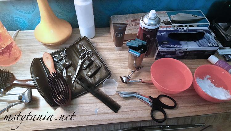 femdom barber shaving fetish